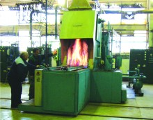 Heat treatment shop