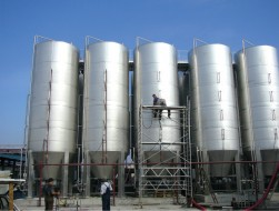 Stainless steel tanks 1